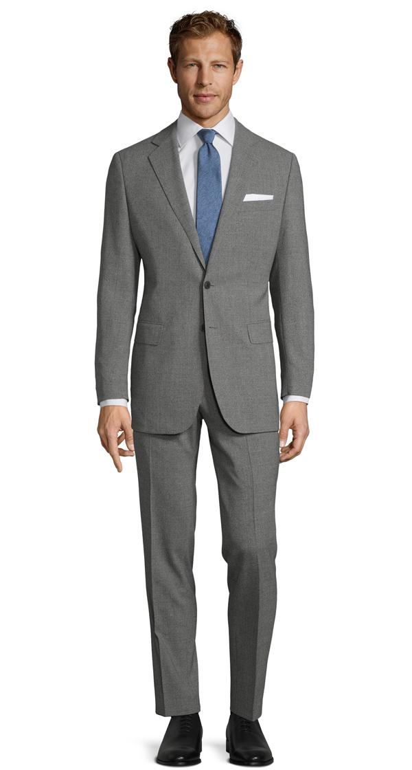 Grey Natural Stretch Suit