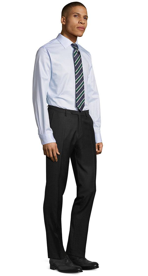 Charcoal Pick & Pick Dress Pants