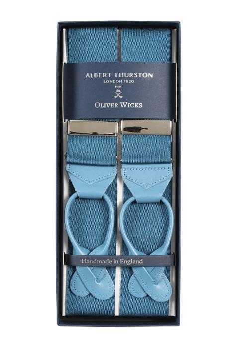Antarctica Blue Suspenders