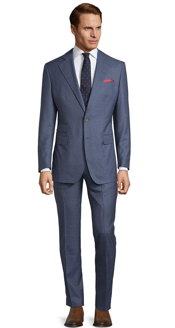 Vendetta Premium Steel Blue Pick & Pick Suit