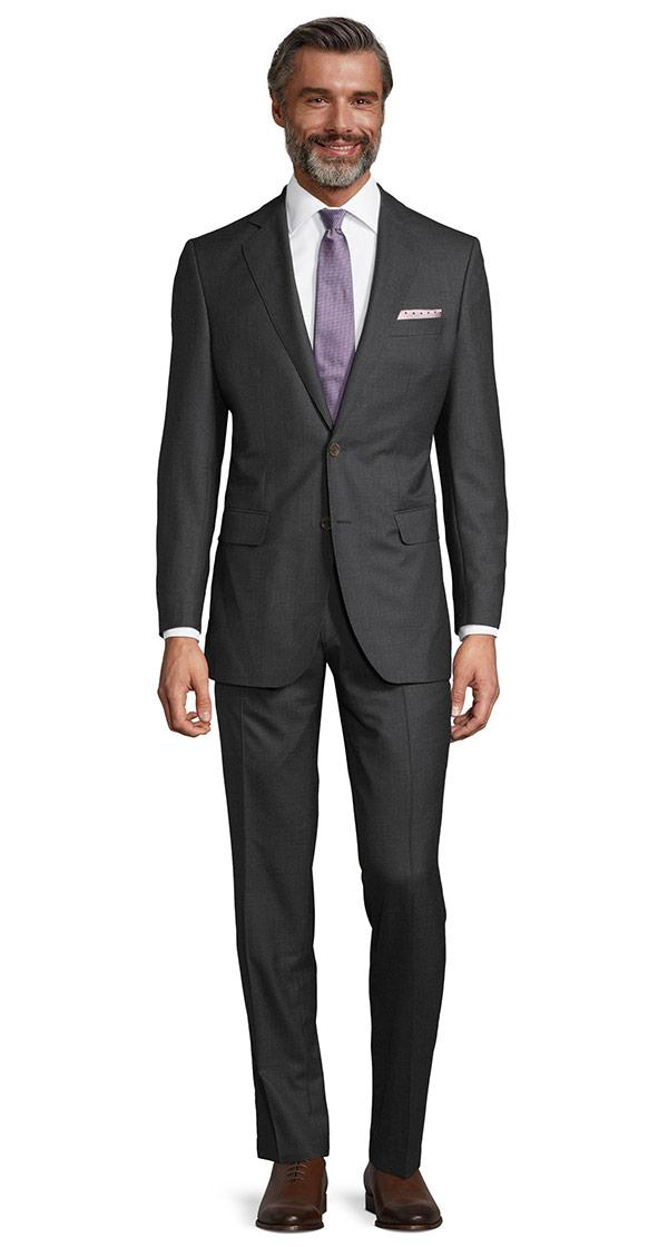 Vendetta Premium Charcoal Pick & Pick Suit