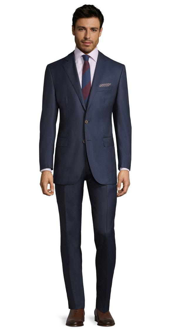 Vendetta Premium Navy Pick & Pick Suit
