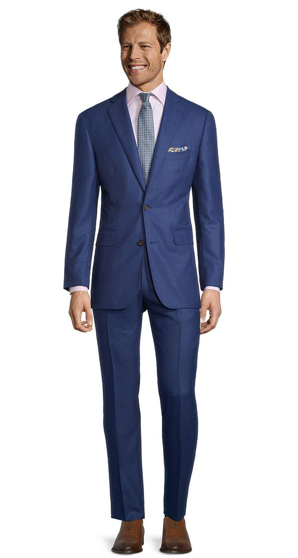 Sartorial Royal Blue Birdseye 160s Suit