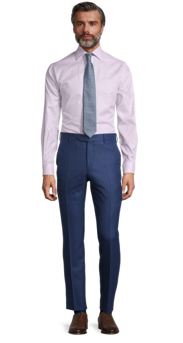 Sartorial Royal Blue Birdseye 160s Pants