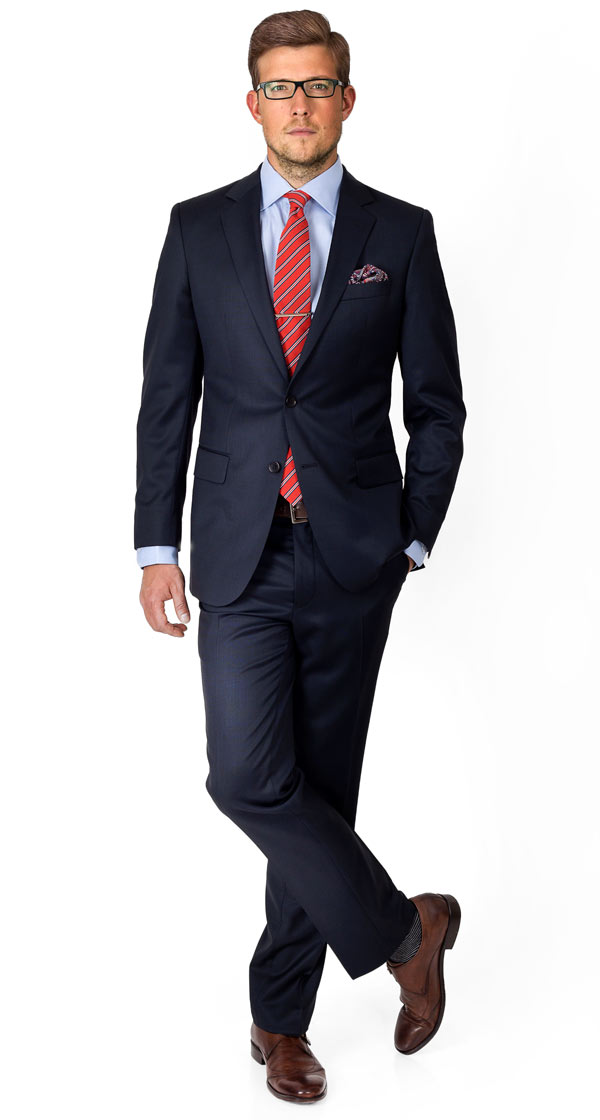 Premium Deep Blue Suit