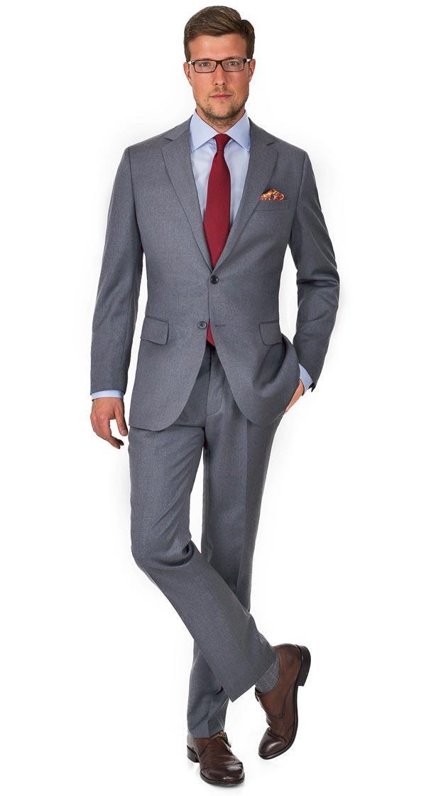 Premium Light Grey Suit