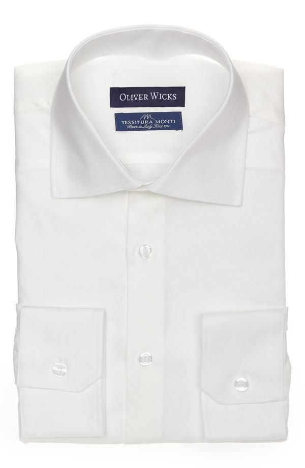 Ivory Cotton Royal Oxford Shirt