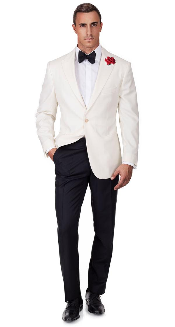 Ivory Dinner Jacket & Dress Pants