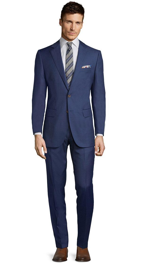 Intense Blue Suit