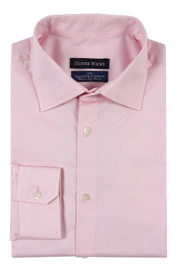 Pastel Pink Pinpoint Oxford Shirt