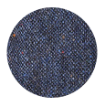 100% Blue Donegal Tweed Wool