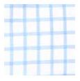 100% Two-Ply Blue Checks Cotton Twill
