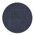 100% Super 140s Charcoal Blue Wool (Italy)