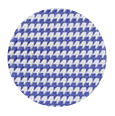 100% Two-Ply Blue Micropatterned Cotton