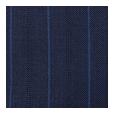 100% Super 150s Blue Stripe Blue Wool (Italy)