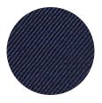 100% Super 100s Solid Deep Blue Wool (Italy)