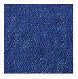 100% Intense Blue Linen (Italy)