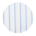 100% Two-Ply Blue Stripe White Royal Oxford