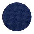 100% Super 100s Intense Blue Hopsack Wool  (Italy)