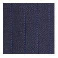 100% Super 110s Blue Tonal Stripe Wool (Italy)