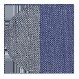Light Grey / Light Blue Wool and Silk (Italy)