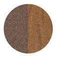 Coffee Brown / Bronze Brown Wool and Silk (Italy)