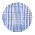 Pompei 100% 80s Two-Ply Blue Checked Cotton