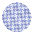 100% Two-Ply Blue Houndstooth Cotton Broadcloth