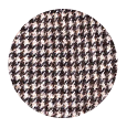Light Brown Houndstooth Wool & Cashmere (Italy)