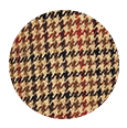 Light Brown Check Wool & Cashmere (Italy)