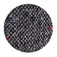 100% Dark Grey Donegal Tweed Wool (Italy)