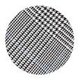 100% Extrafine Grey Glen Plaid Wool (UK)