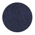 Navy Wool and Linen (Italy)