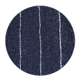 100% Super 120s Blue Chalkstripe Flannel Wool (Italy)