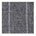 100% Super 120s Grey Chalkstripe Flannel Wool (Italy)
