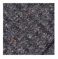 100% Dark Grey Donegal Shadow Tweed Wool (Italy)