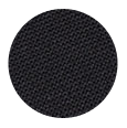 100% High Twist Black Wool with Natural Stretch (Italy)