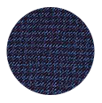 100% Navy Houndstooth Wool with Natural Stretch (Italy)