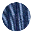 100% Super 150s Steel Blue Birdseye Wool (Italy)