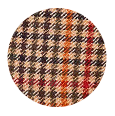 Brown Check Wool & Cashmere (Italy)