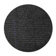 100% Super 120s Charcoal Plaid Flannel Wool (Italy)