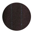 100% Super 120s Blue Stripe Brown Flannel Wool (Italy)