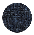 Navy Fine Check Tweed Wool (Italy)
