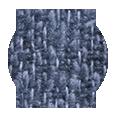 Navy Blue Melange Wool Silk & Linen (Italy)