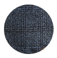 100% Super 110s Blue Plaid Natural Stretch Wool (Italy)