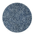100% Super 100s Steel Blue Flannel Wool (Italy)