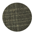 Forest Green Plaid Wool & Cashmere (Italy)