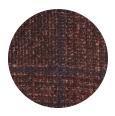 Copper Plaid Wool, Baby Alpaca & Polyamide (Italy)