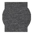 100% Dark Grey Cotton Flannel